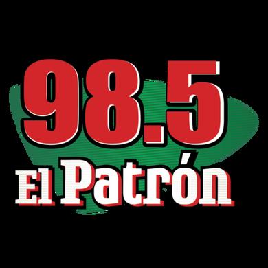 98.5 El Patron logo