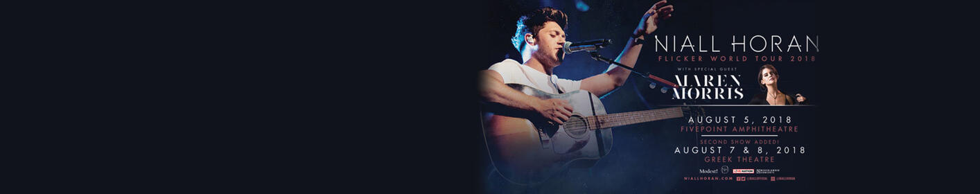 Enter for your chance to win a pair of tickets to see Niall Horan at The Greek Theater!