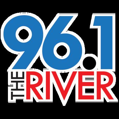 96.1 The River logo