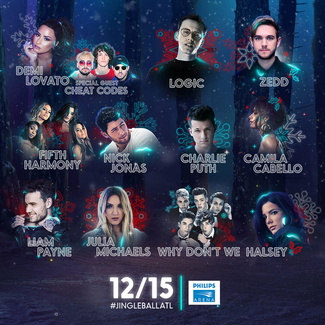 Lineup for Power 96.1's Jingle Ball Presented by Capital One