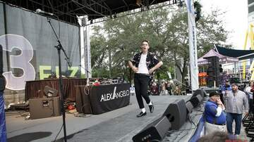 93.3 FLZ's Jingle Ball - #FLZJingleball Alex Angelo performing the Free Show Preshow