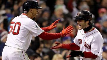 Boston Sports - ChampionRed Sox Flipping Mookie Betts, Andrew Benintendi In Lineup