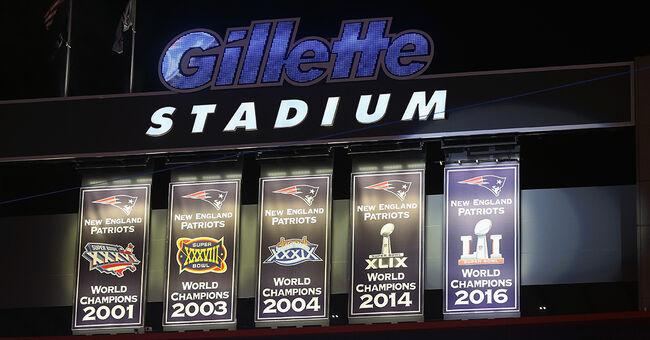 gillette stadium patriots super bowl