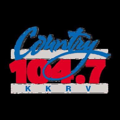 Country 104.7 KKRV logo