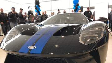 Fred - One of only 1000 Ford GT's arrived in  Toledo yesterday and we were there.