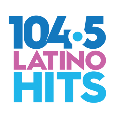 104.5 Latino Hits logo