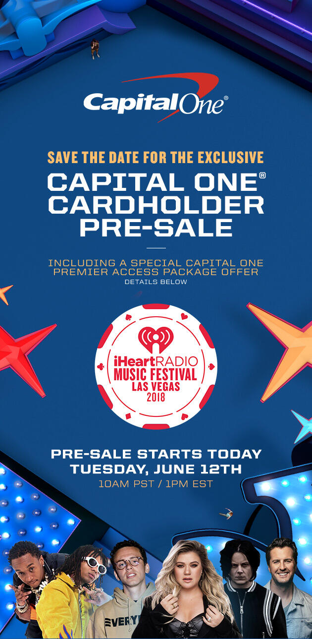Save the date for the exclusive Capital One Cardholder Pre-Sale