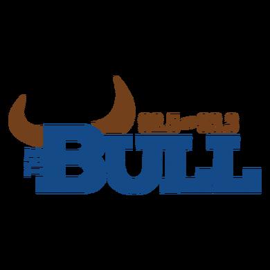 92.5 The Bull logo