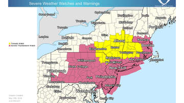 Storm Center - Severe Thunderstorm, Tornado Watches Issued For Parts Of Massachusetts