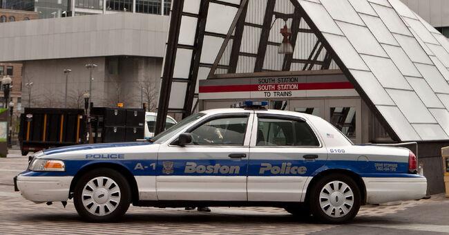 boston police cruiser generic