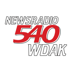 News Radio 540 WDAK logo