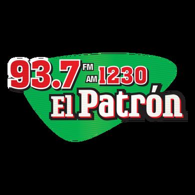 93.7 El Patron logo