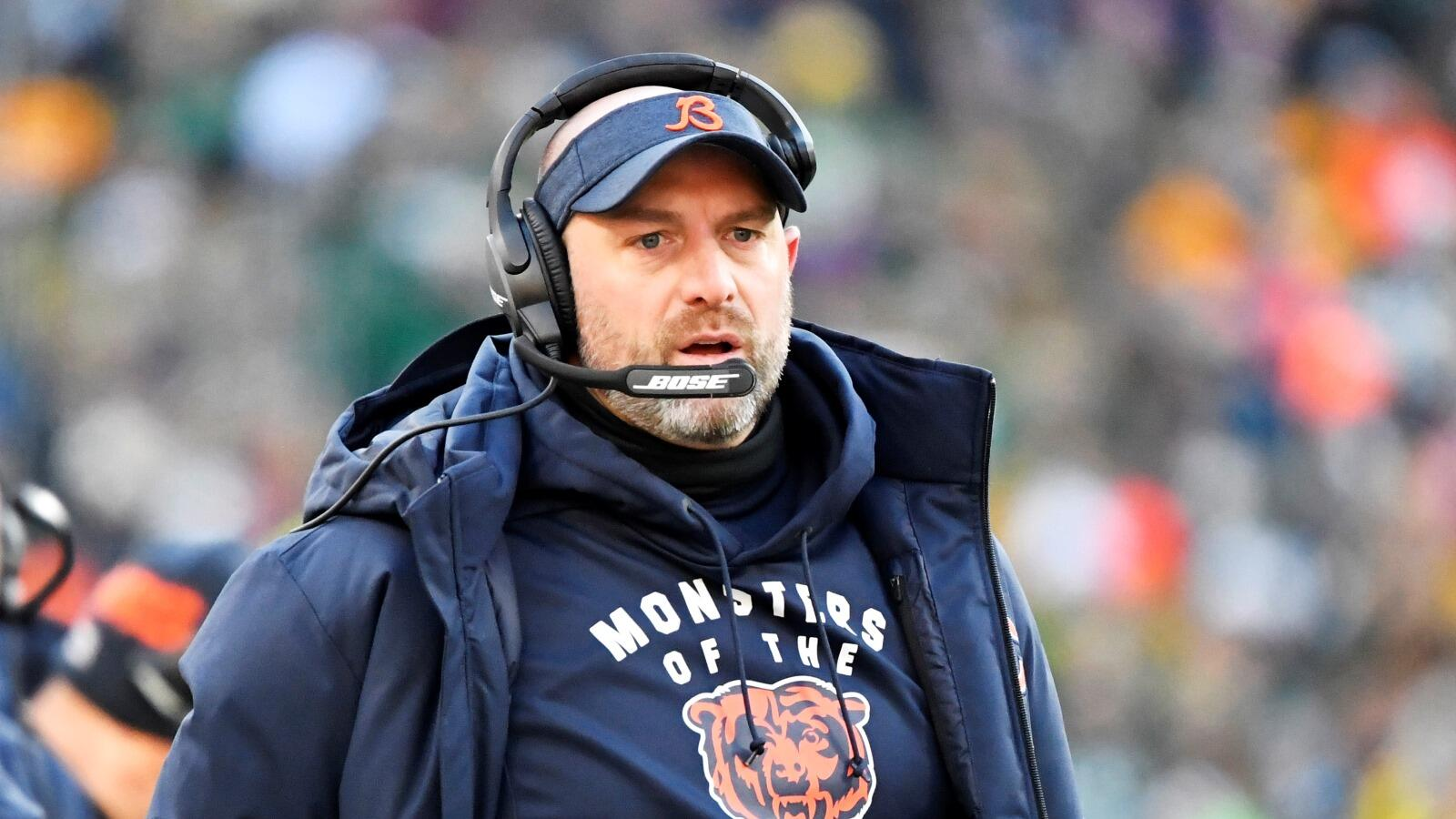Matt Nagy is Scared of the Boogeyman Coming After Justin Fields