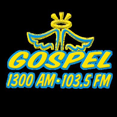 Gospel 1300 AM/103.5 FM logo