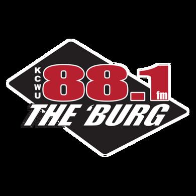 881 The Burg KCWU-FM logo