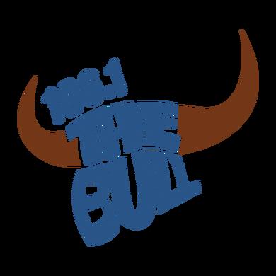 106.1 The Bull logo