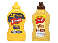 French's Yellow and Brown Mustards