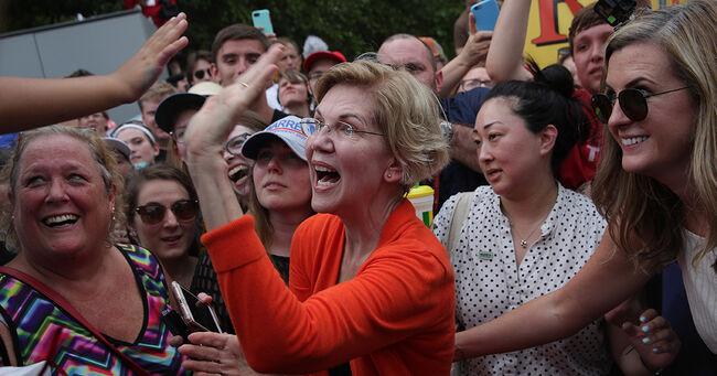 Elizabeth Warren at Iowa State Fair