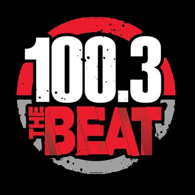 100.3 The Beat logo