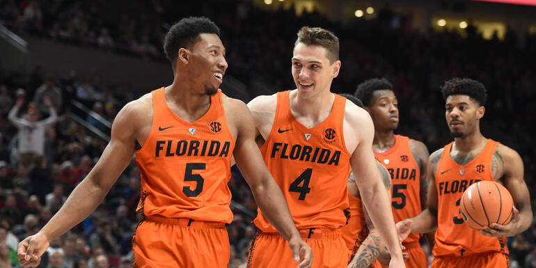 Tennessee Inside Game Too Much For Gators