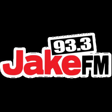 93.3 Jake FM logo