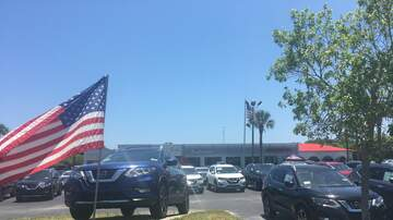 Photos - Eric Hunter At Sutherlin Nissan For The Great Payoff and Memorial Day Sale!