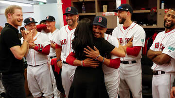 Sports - Prince Harry, Meghan Markle Meet With Red Sox In London