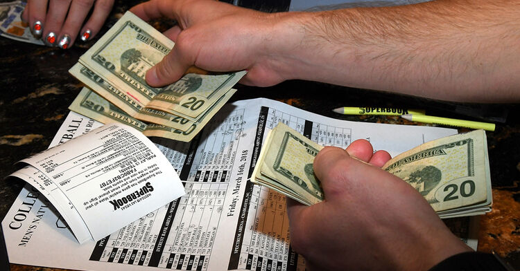 sports gambling betting march madness las vegas