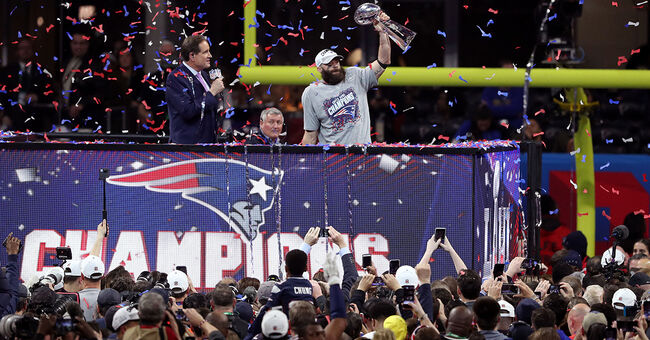 julian edelman new england patriots super bowl win rams