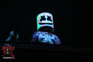 #FLZJingleball Marshmello Performing Inside Amalie [Photos]