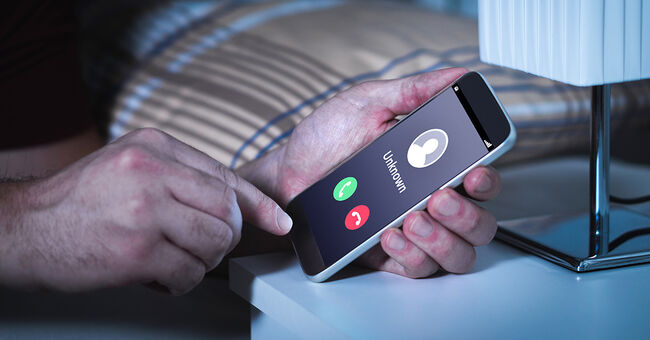 phone scam robocall unknown generic call