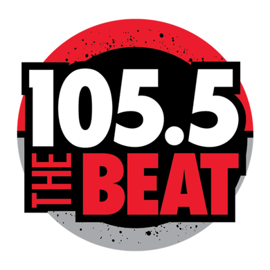 105.5 The Beat logo