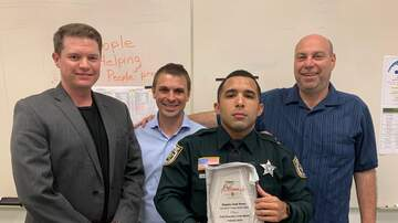 iHeartMedia & Freeman Injury Law First Responder Salute - Deputy Josh Perez - February 2019
