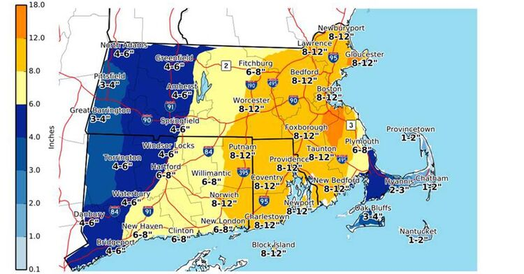 nws snow totals