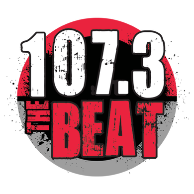 107.3 The Beat logo