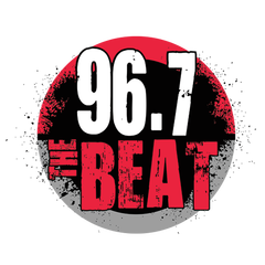 96.7 THE BEAT logo