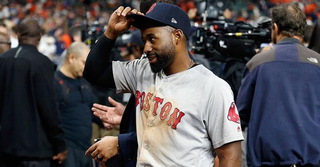 jackie bradley jr boston red sox mlb baseball