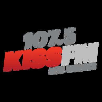 107.5 KISS FM logo