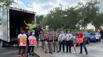 Photos - iHeartBahamas Relief Effort At Vero Beach Outlets