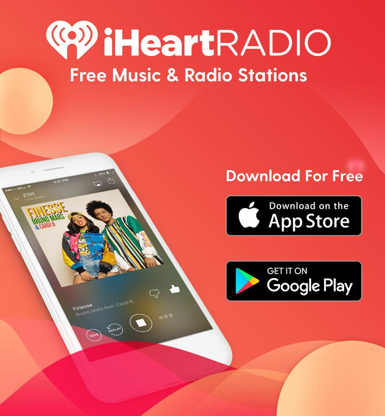 download the free iheartradio music app iheartradio