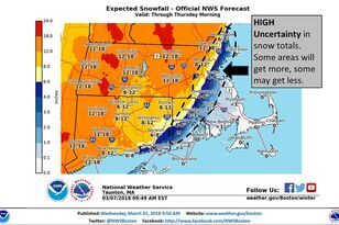 Storm Bringing 'Whiteout Conditions' Wednesday Evening