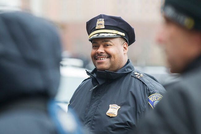 Wiliam G. Gross, Boston Police Commissioner (Photo by Scott Eisen/Getty Images)