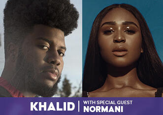 Khalid with Special Guest Normani