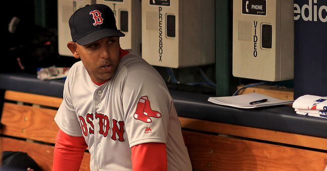 Alex Cora boston red sox manager