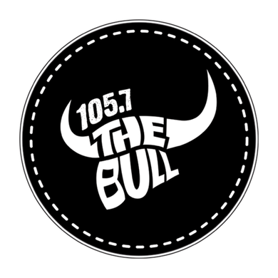 105.7 The Bull logo