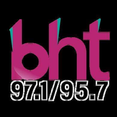 97.1/95.7 BHT logo