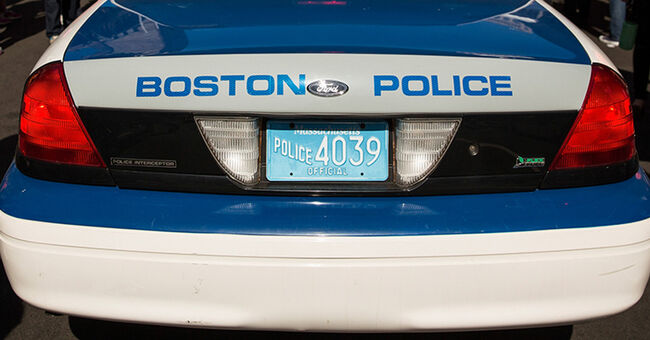 boston police bpd cruiser generic