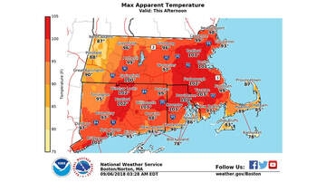 Storm Center - Heat Advisory In Effect Until 7 P.M. In Boston