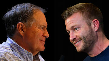 Super Bowl LIII - Patriots, Rams Head Coaches Bill Belichick, Sean McVay Text Frequently
