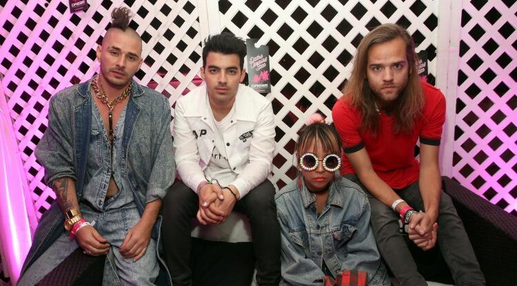 DNCE Hosts The World's Largest Cake Fight (VIDEO) | CMT Radio Live +